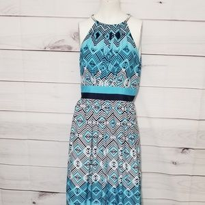 White House Black Market | WHBM Dress | Color Blue